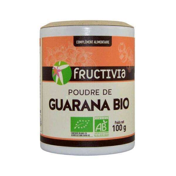 Fructivia - Poudre de Guarana BIO 100g