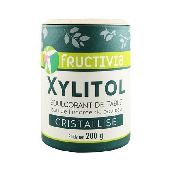 Fructivia - Xylitol - Sucre naturel de Bouleau 200g