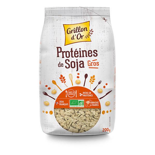 prot ine de soja gros 200g grillon d 39 or acheter sur
