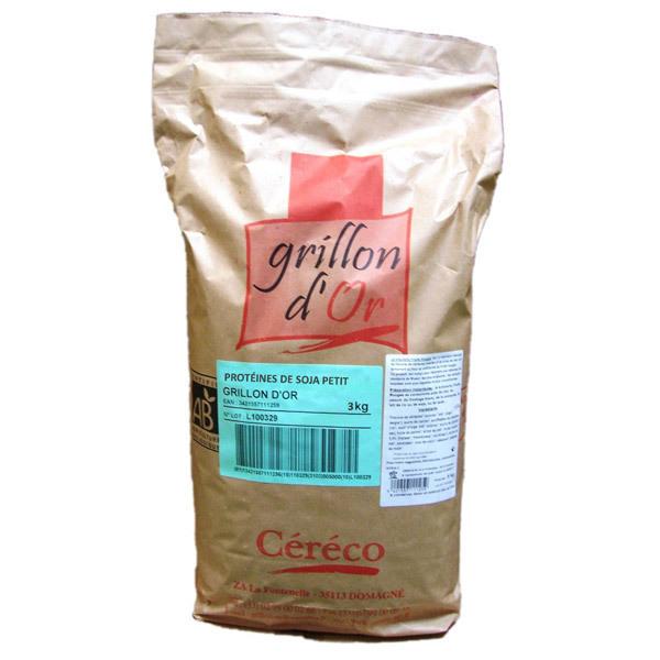 Prot ine de soja petit 3kg grillon d 39 or acheter sur for Proteine de soja