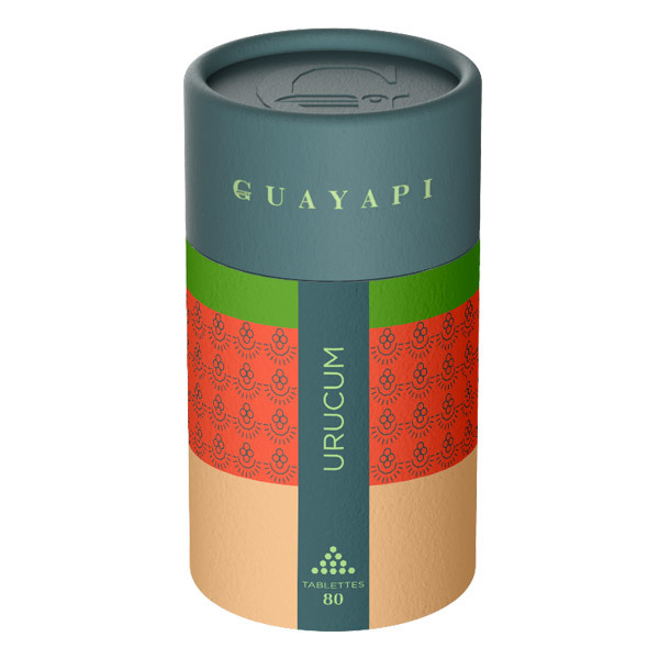 Guayapi - Urucum x 80 Comprimés