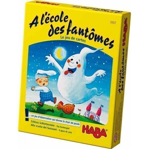 Haba - Jeu de cartes A l'école des fantômes - Dès 4 ans