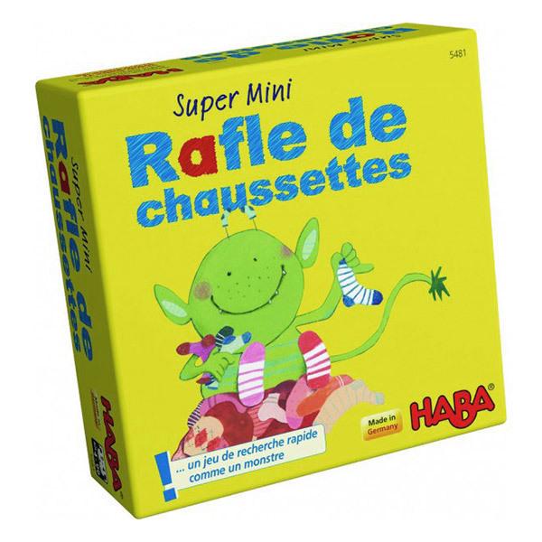 Haba - Mini jeu Super mini rafle de chaussettes