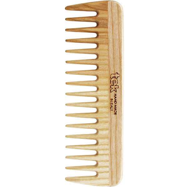 Tek - Peigne démêloir dents larges frêne naturel
