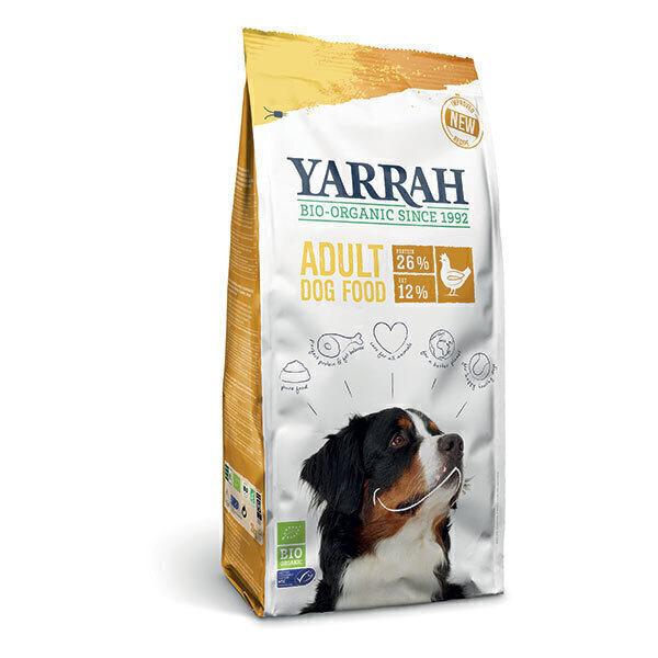 Yarrah - Croquettes pour chien adulte Poulet 2kg