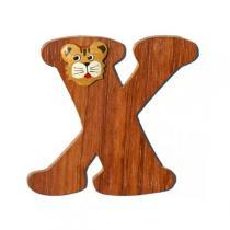 Diabolo Kids - Lettre X en bois auto-adhésive Tradition