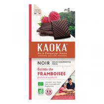 Kaoka - Tablette chocolat noir 55% Framboise 100g