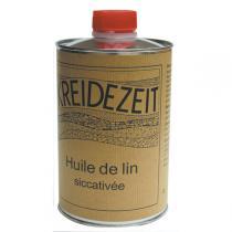 Kreidezeit - Huile de lin siccativée 1L