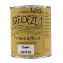 Kreidezeit - Standölfarbe Schlußanstrich weiß 0,75l