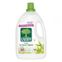 L'Arbre Vert - Lessive Liquide Savon Végétal 2L