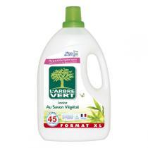 L'Arbre Vert - Lessive Liquide Savon Végétal 3L