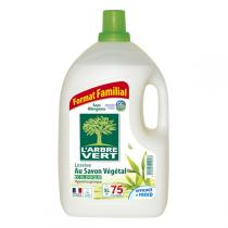 L'Arbre Vert - Lessive Liquide Savon Végétal 5L