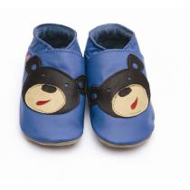 Starchild - Pantofole in cuoio Starchild Bear Blue