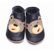 Starchild - Pantofole in cuoio Starchild Bear Navy
