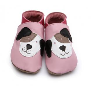 Starchild - Baby Blue Pooch Leather baby shoes