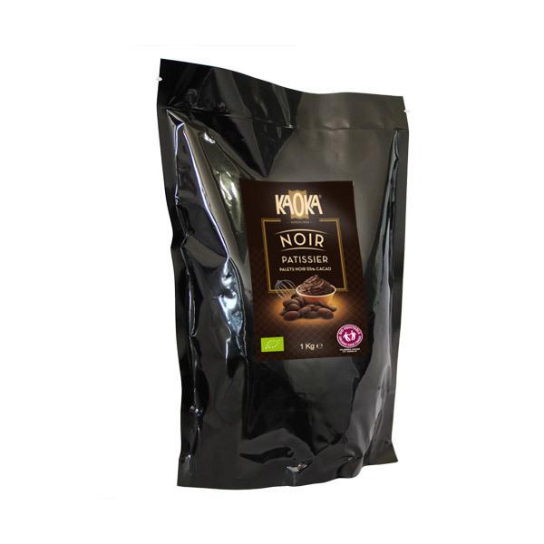 Kaoka - Palets de chocolat noir 55% 1kg