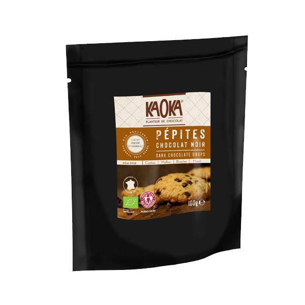 Kaoka - Pépites chocolat noir 50% 100g