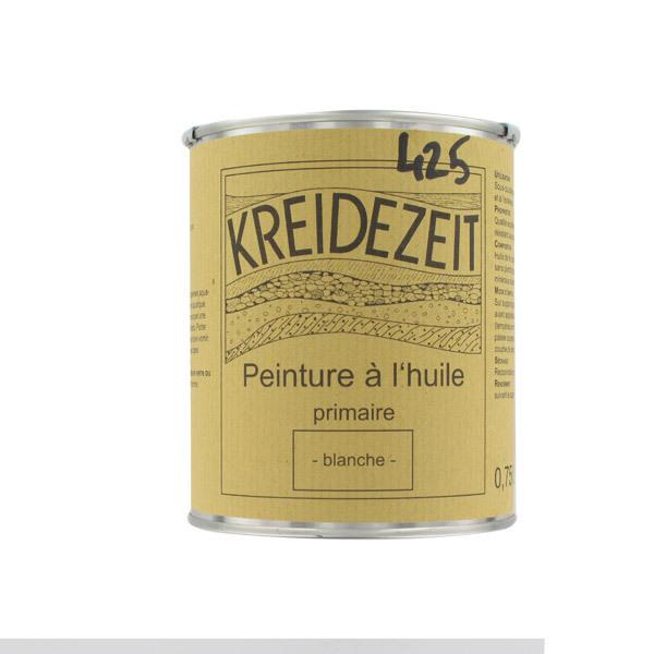primaire peinture l 39 huile blanche 2 5 l kreidezeit acheter sur. Black Bedroom Furniture Sets. Home Design Ideas