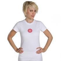 Chin Mudra - T-Shirt Yoga Chakra Bio-Baumwolle Weiß