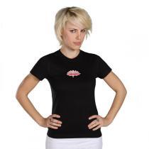Chin Mudra - T-Shirt Yoga Lotus Bio-Baumwolle Schwarz