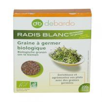 Debardo - Graines à Germer Radis Blanc 200g