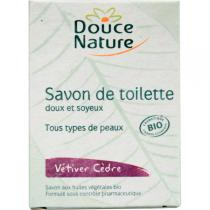 Douce Nature - Bio Pflegeseife Vetiver Zeder 100 g