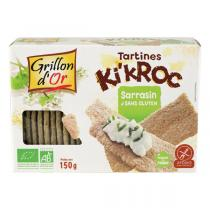 Grillon d'or - Tartines Ki'kroc sarrasin 150g