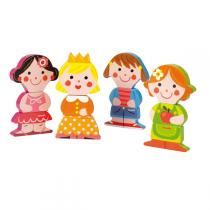Janod - Funny magnets Baby Dolls