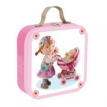 Janod - Valisette Puzzle Lilou joue à la poupée