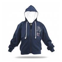 Kobyo - Kapuzen-Pullover für Mädchen, 6-10 Jahre