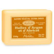 Melvita - Sapone Vegetale Argan-Albicocca