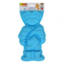 ScrapCooking - Pirate Puzzle Silicone Mould - Blue