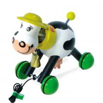 Vilac - Rosy the Cow - wooden pull toy.