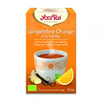 Yogi Tea - Thé Gingembre Orange Vanille 17 sachets