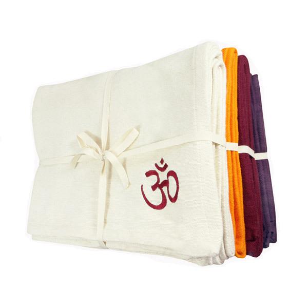 Chin Mudra - Coperta da yoga bio 4 colori