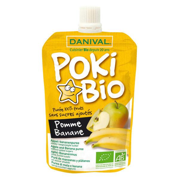 Danival - Compote Poki Pomme banane 90g BIO