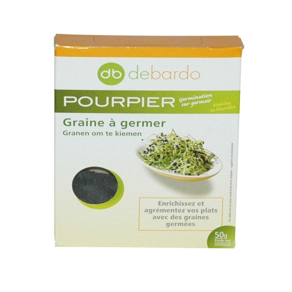 Debardo - Purslane Sprouting Seeds 50g
