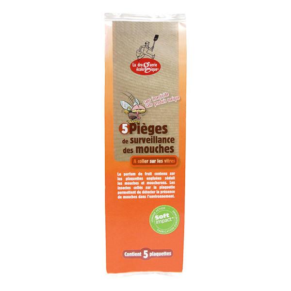 La Droguerie écologique - 5 Pièges à mouches à Coller