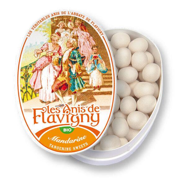 Les Anis de Flavigny - Bonbons à l'anis vert arôme mandarine 50g
