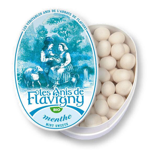 Les Anis de Flavigny - Bonbons à l'anis vert arôme menthe 50g