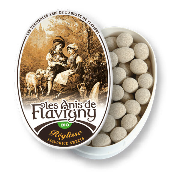 Les Anis de Flavigny - Bonbons à l'anis vert arôme réglisse 50g