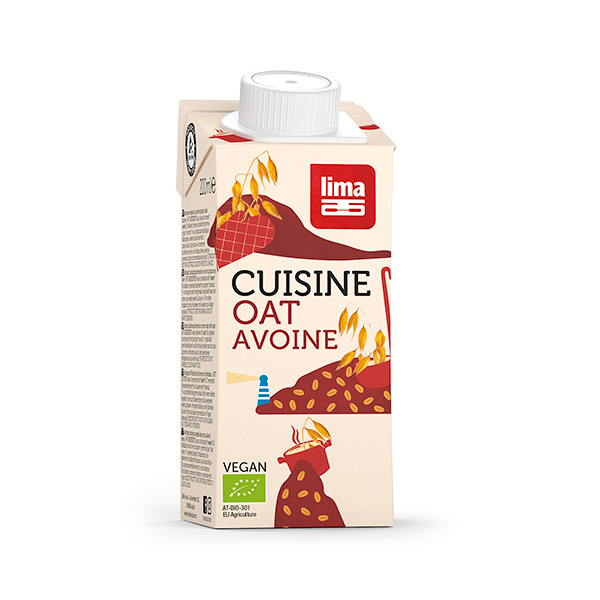 Lima - Purée d'Avoine Cuisine 200ml