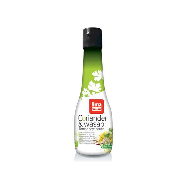 Lima - Coriander & Wasabi Tamari Soya Sauce 200mL