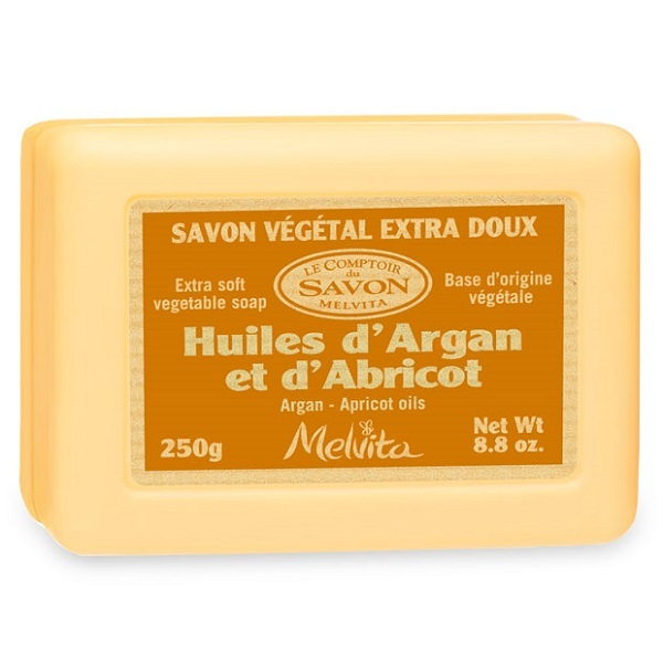 Melvita - Savon Végétal Argan Abricot