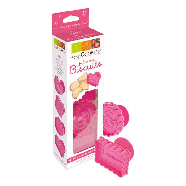 ScrapCooking - Biscuit Cutter Kit x4 Cutters