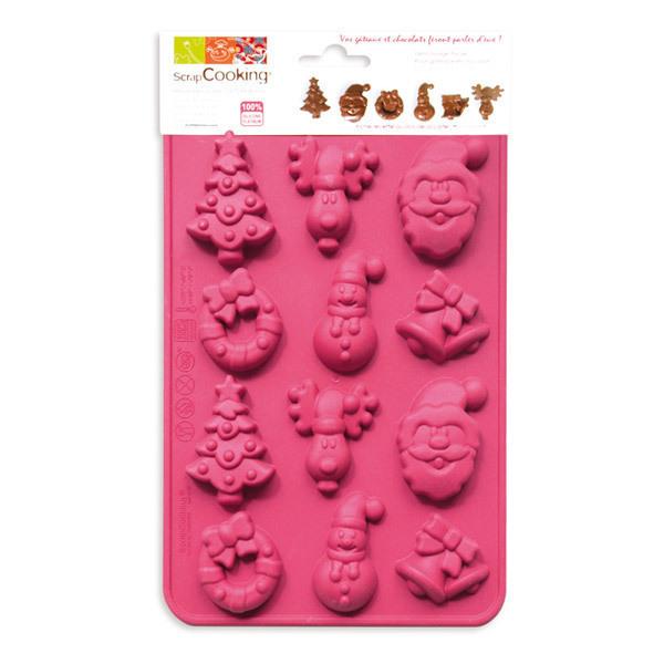 ScrapCooking - Stampo cioccolato di Natale-silicone