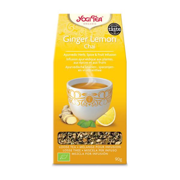 Yogi Tea - Infusion vrac Ginger Lemon Chai 90g