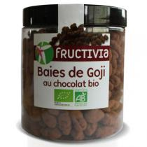 Fructivia - Baies de Goji au Chocolat Noir Bio 150g