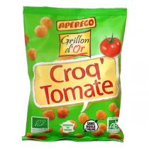 Grillon d'or - Biscuit apéritif Croq'tomate basilic 45g