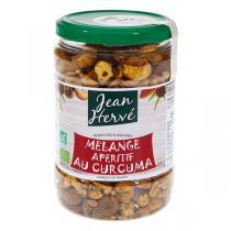 Jean Hervé - Mélange Apéritif Fruits Secs, Shoyou et Curcuma 400g